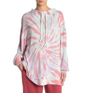 Urban Outfitters Tie-Dye Knit Drawstring Sweater